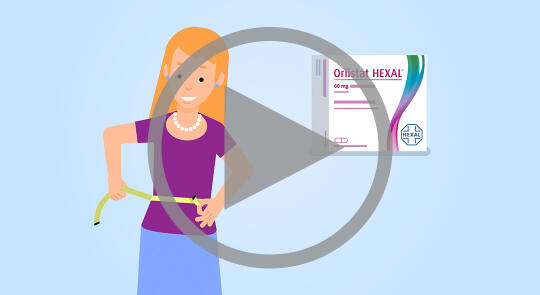 Video: How Orlistat HEXAL® 60 mg helps you lose weight